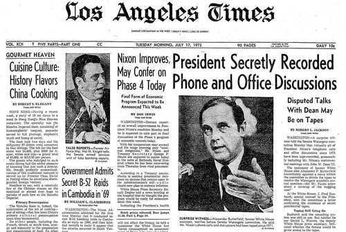 an analysis of the watergate scandal in president nixons administration The nixon administration and watergate to analysis of transcripts of nixon's infamous with former president richard nixon about watergate.